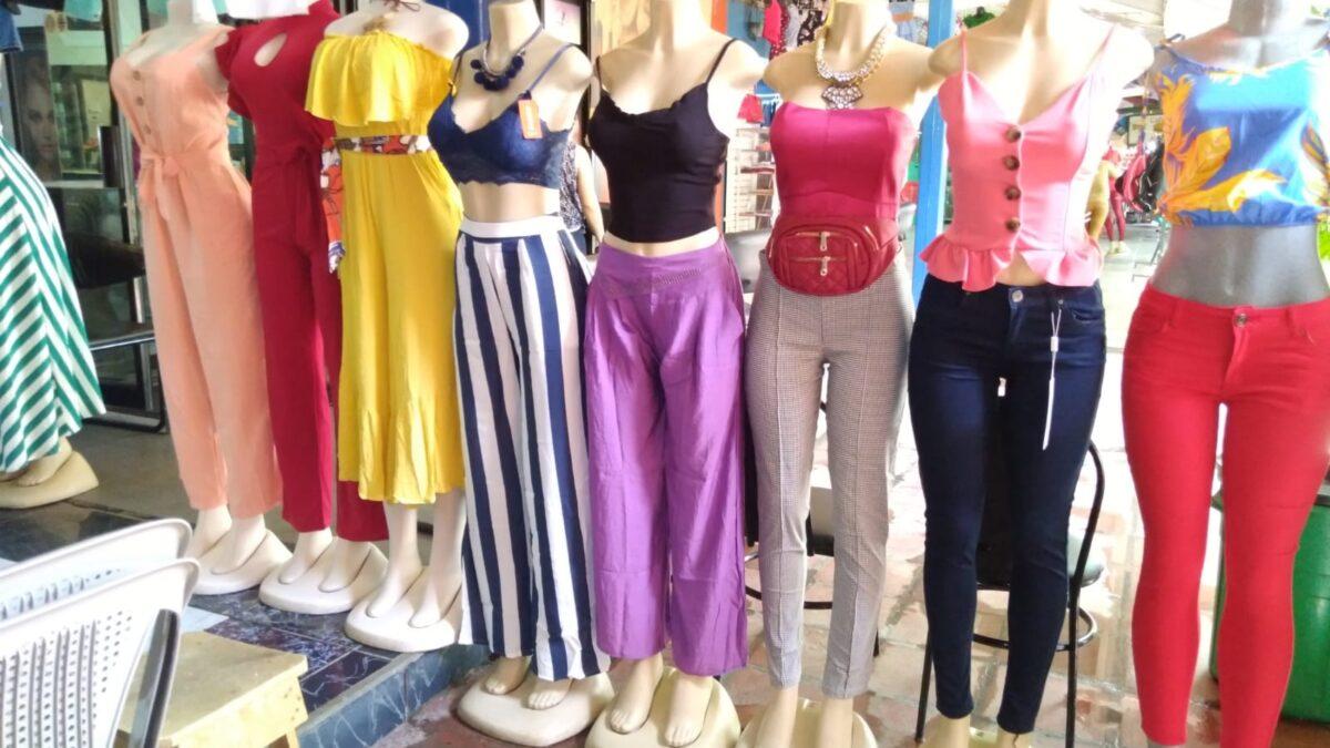 Prendas de vestir a precios módicos en el Mercado Roberto Huembes